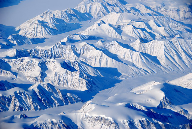 Ostgronland. Groenlandia.