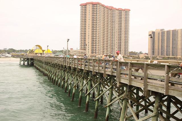 Apache pier north myrtle beach flickr photo sharing for Fishing piers in myrtle beach