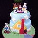 Max and Ruby tea party cake by jewelsb78(thefrostedcakencookie)