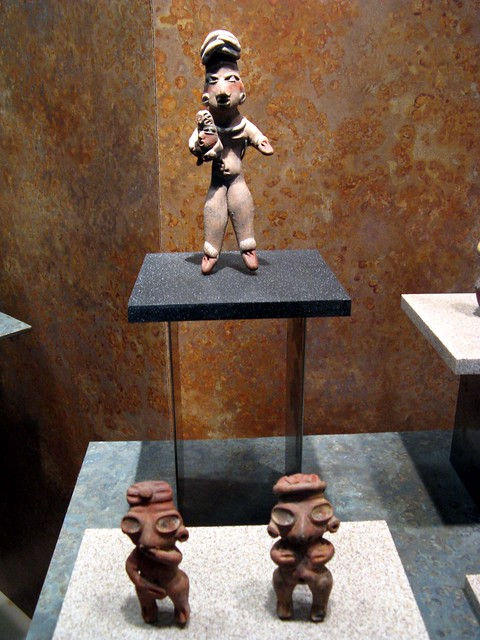 The Museum of Mud has many clay art pieces