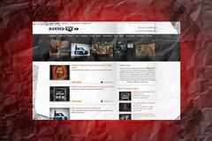 bannedtvad.com portfolio design