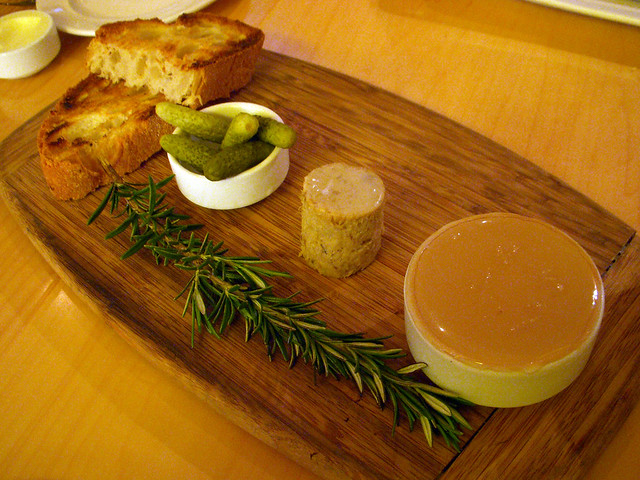 how to make chicken liver terrine