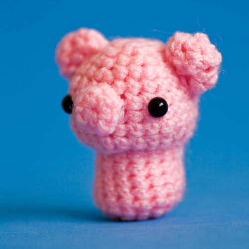 Cute Amigurumi Pigs : Amigurumi Kawaii Pink Petite Pig Flickr - Photo Sharing!