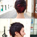 short haircut with red color by wip-hairport