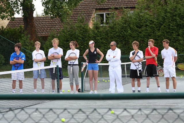 Cambridge Tennis Clinics - June 2009