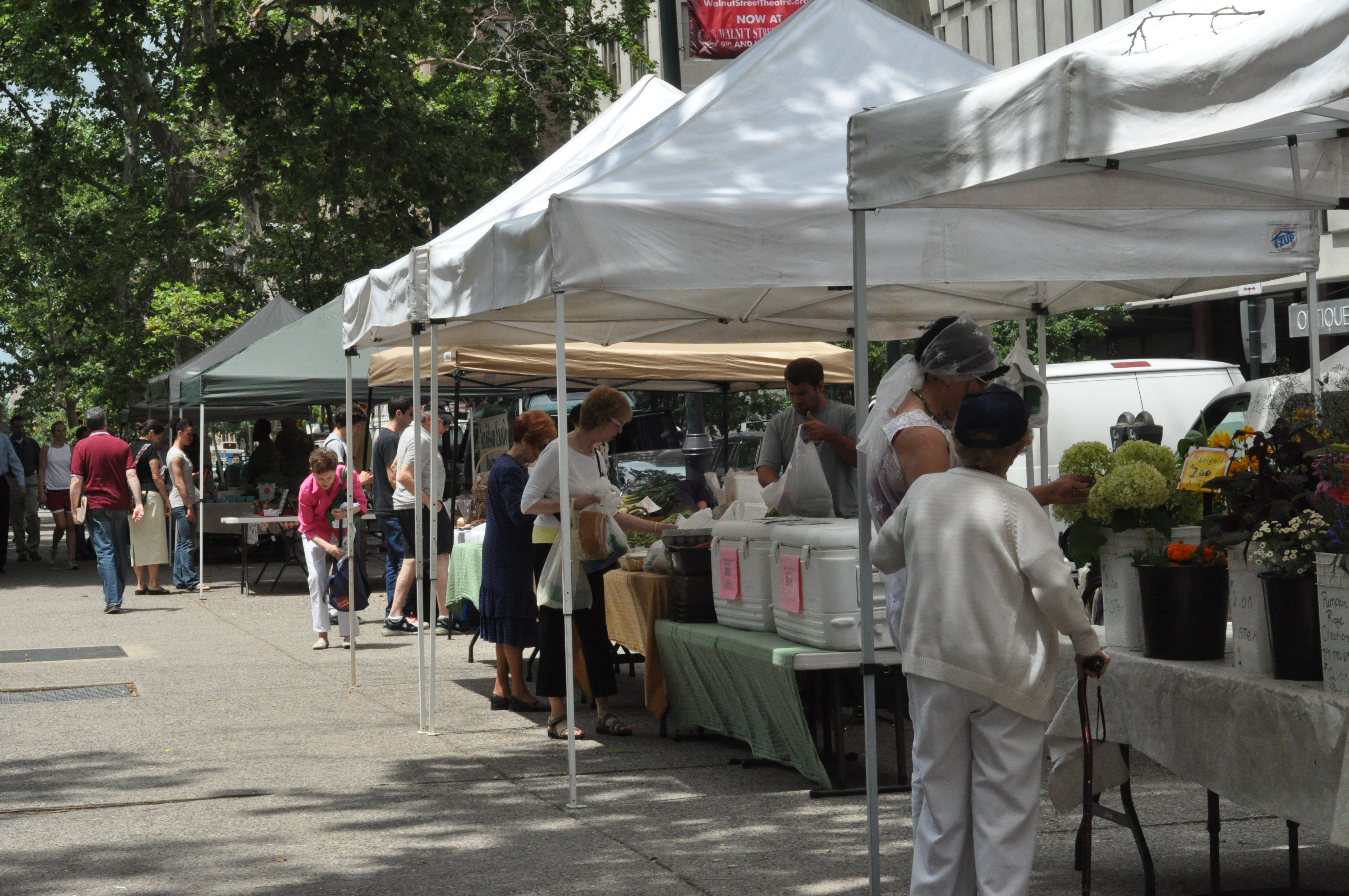 Rittenhouse Square Tuesday Market