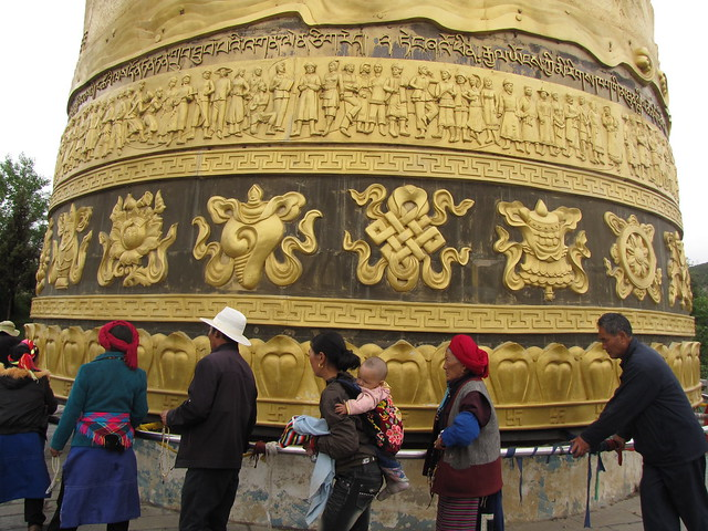 Prayer Wheel in Shangri-la