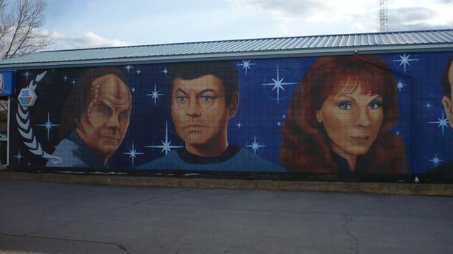Vulcan Mural