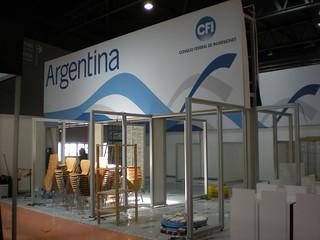 Pabellón Argentino - Feria Alimentaria 2010