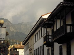View of the Cerros from the Candelaria