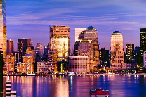 nyc newyorkcity sunset ny newyork reflection skyline brooklyn river geotagged newjersey jerseycity cityscape nj hudson hdr mudpig stevekelley