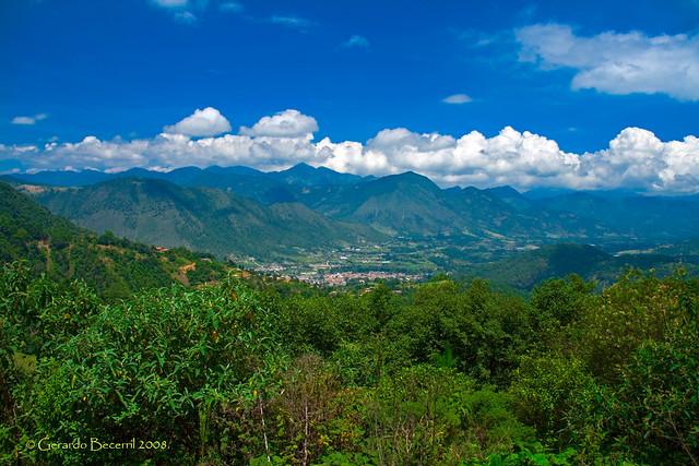 Panoramica Tetela de Ocampo, Puebla
