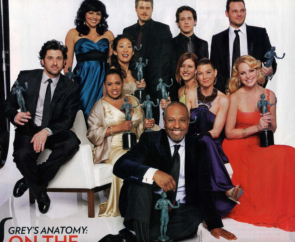 Cast members of greys anatomy - Jokar movie