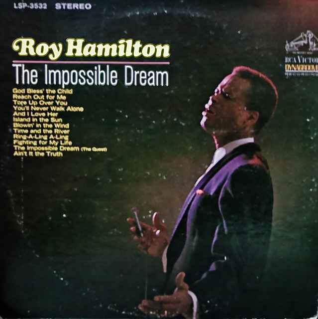 Roy hamilton the impossible dream flickr photo sharing