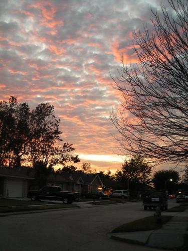 winter light sunset color weather clouds evening louisiana