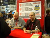 Jason Aaron & Brian Wood Signing @Midtown Comics Booth by excalipoor