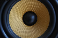 studio monitor, loudspeaker, subwoofer, electronic device, circle, sound box,
