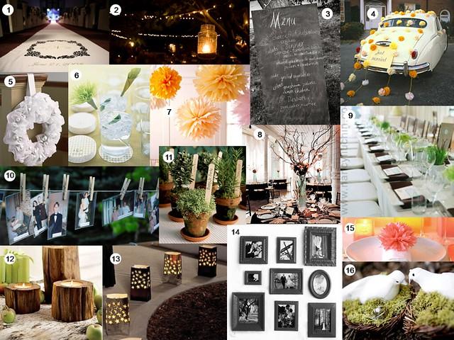 diy wedding decorations board 1 visit buttons belles. Black Bedroom Furniture Sets. Home Design Ideas