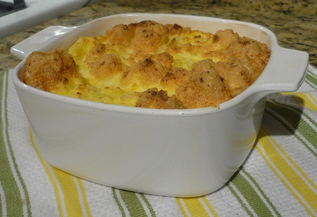 Eggy Cheese Grits Souffle | A delicious breakfast or brunch ...