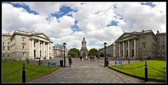 Trinity College, Dublin - Panoramaphoto:  Philip Milne / flickr Creative Commons Licence Namensnennung, nicht kommerziell, keine Bearbeitung