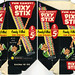 Pixy Stix 5-cent pack display box - Late 60's Early 70's
