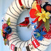 Freedom Yarn Wreath
