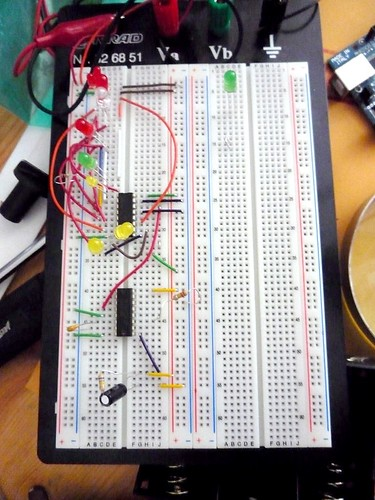 Testing Capacitors Circuit