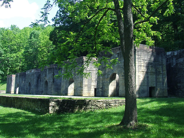lime kilns at Canoe Creek