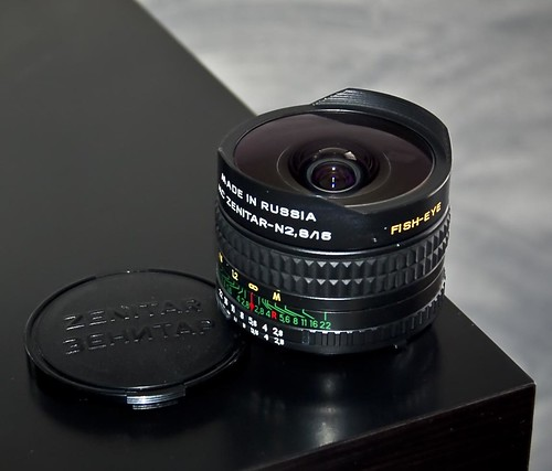 Zenitar 16mm f/2.8 Fisheye
