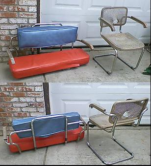 Super Bench Seat Made From Chair Frame For Quadracycle Love Sea Evergreenethics Interior Chair Design Evergreenethicsorg