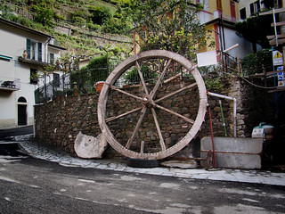 Manarola's big wheel