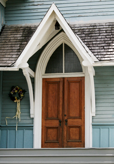 church doors
