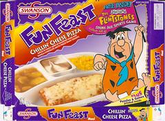 1999 Swanson Flintstones Fun Feast Box