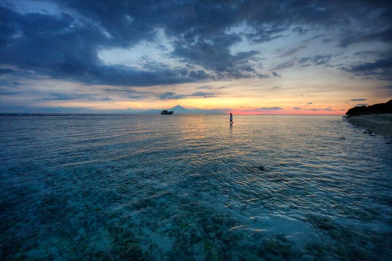 Sunset from Gili Trawangan