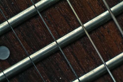 Guitare macro