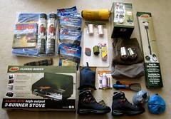 camping gear score