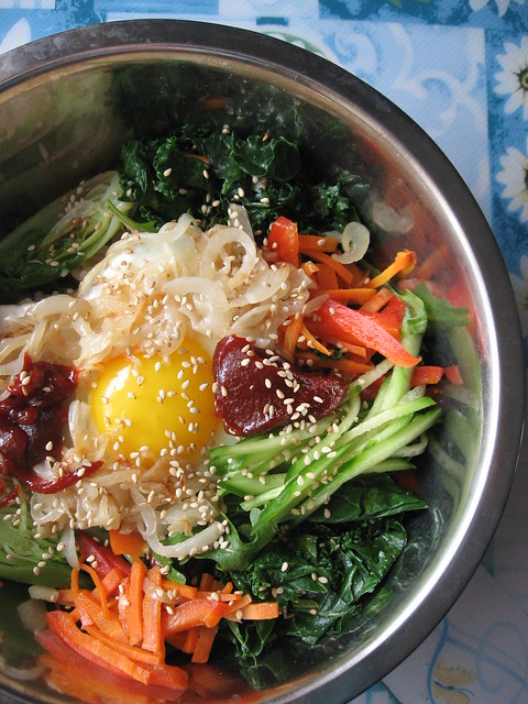 Easy Healthy Korean Bibimbap 韩式拌饭 ~ Teczcape-An Escape to Food