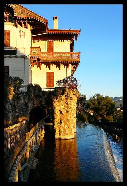 La maison du garde de la cascade de gairaut flickr La maison de la cascade