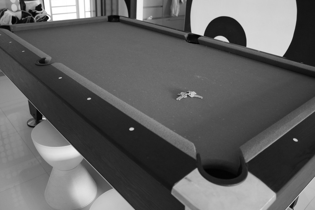 Pool table/ Dining table.