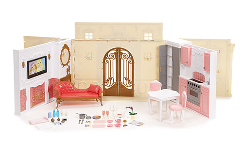 Bratz Mansion http://www.flickr.com/photos/glamgeko/3265528818/