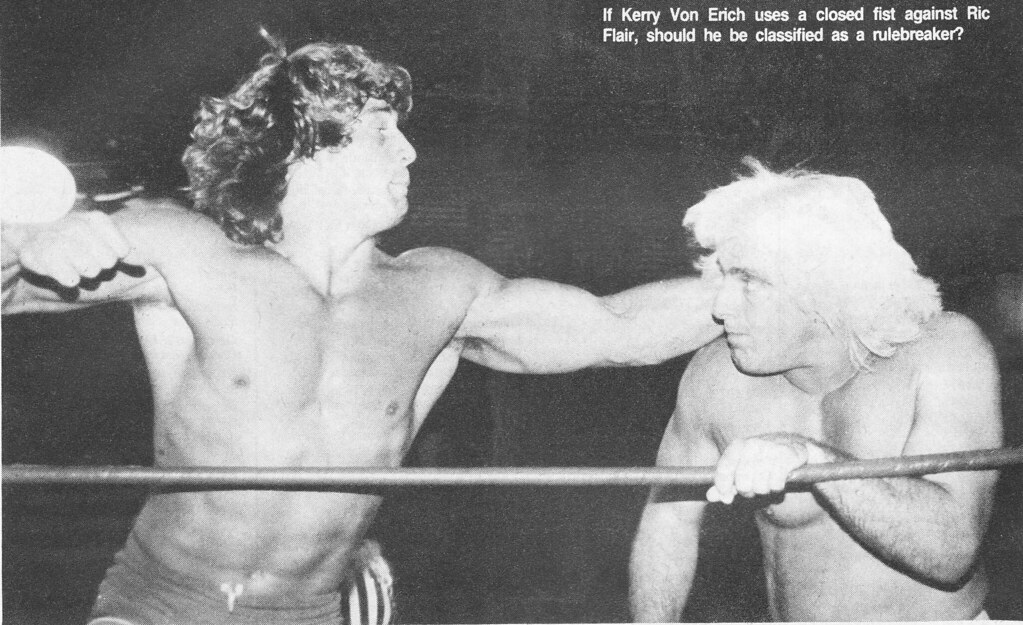 Kerry Von Erich vs. Ric Flair