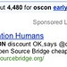 "Searching for ""oscon early bird"" on Google Produces Interesting Sponsored Links Advertisement"