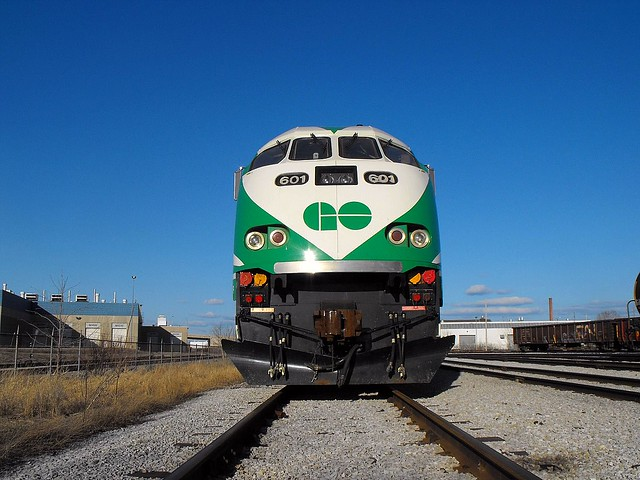go train - Flickr CC Buddahbless