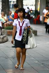 Student in Bangkok