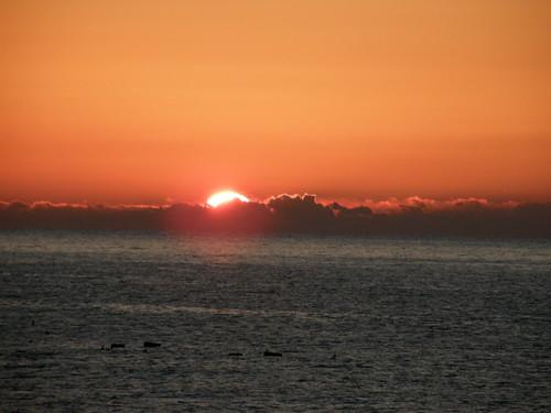 sunrise geotagged 初日の出 nebukawa 神奈川県 kanagawaprefecture 根府川 geo:lon=13914058 geo:lat=35202533