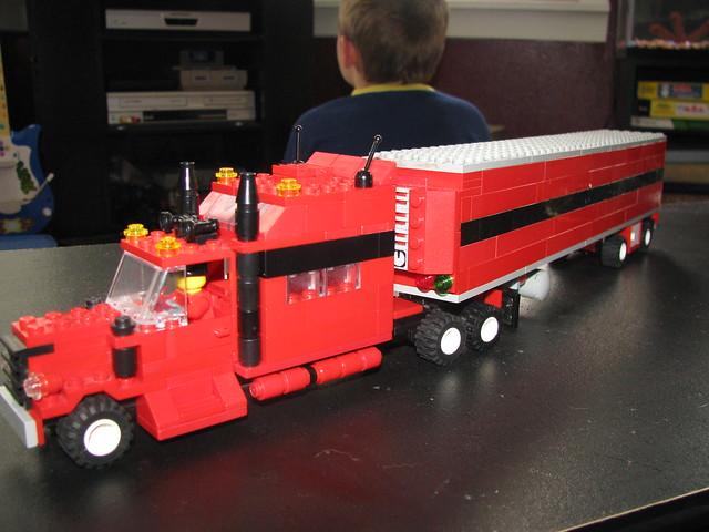 Lego Tractor Trailer : Lego tractor trailer mega sleeper and reefer tog