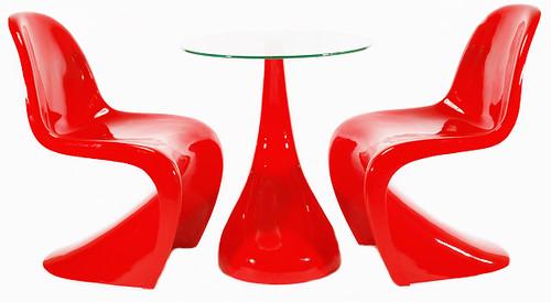 Panton chair vitra verner panton for Vitra tisch replica