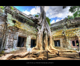 Consumed By the Jungle | Ta Prom Temple, Siem Reap, Cambodia :: HDR