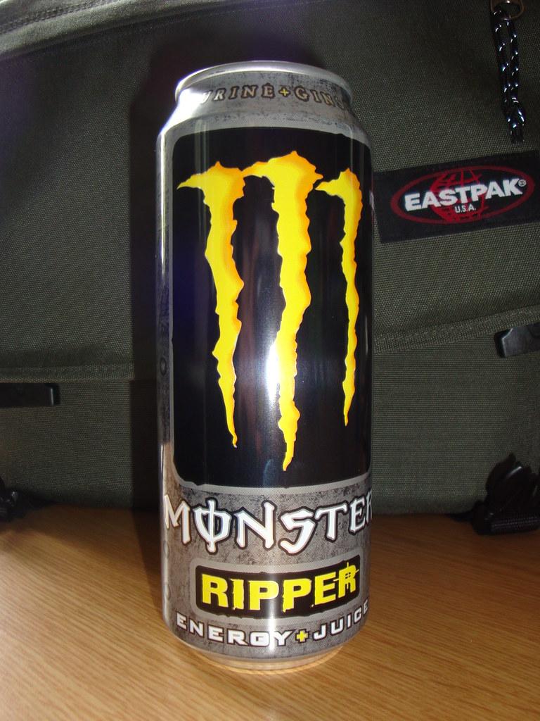 Monster Ripper energy drink