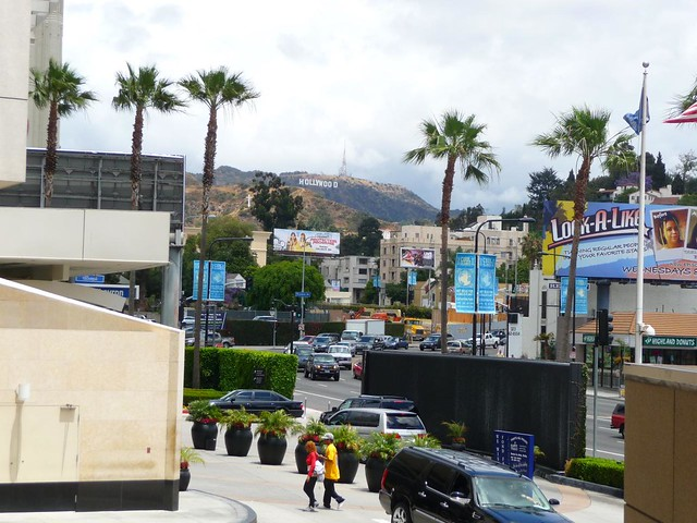 View of Hollywood Sign from Hollywood & Highland Center